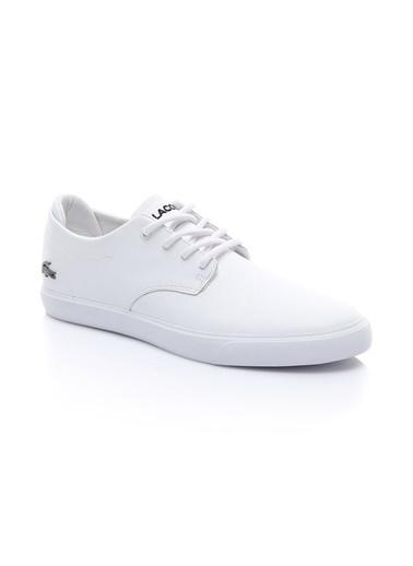 Lacoste Erkek Esperra Bl 1 Casual Ayakkabı 737CMA0095.21G Beyaz